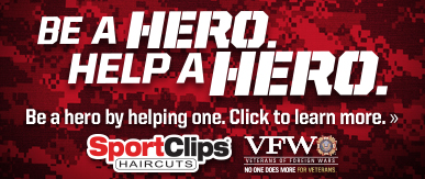 Sport Clips Haircuts of Chesapeake- Towne Place at Greenbrier​ Help a Hero Campaign